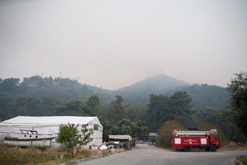 Muğla Dalaman'da orman yangını! 18 saat sonra kontrol altına alındı