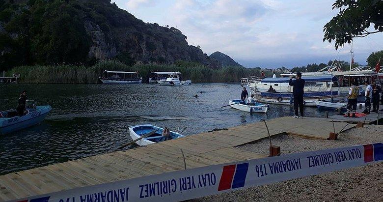 Muğla'da Dalyan Kanalı'na giren genç boğuldu