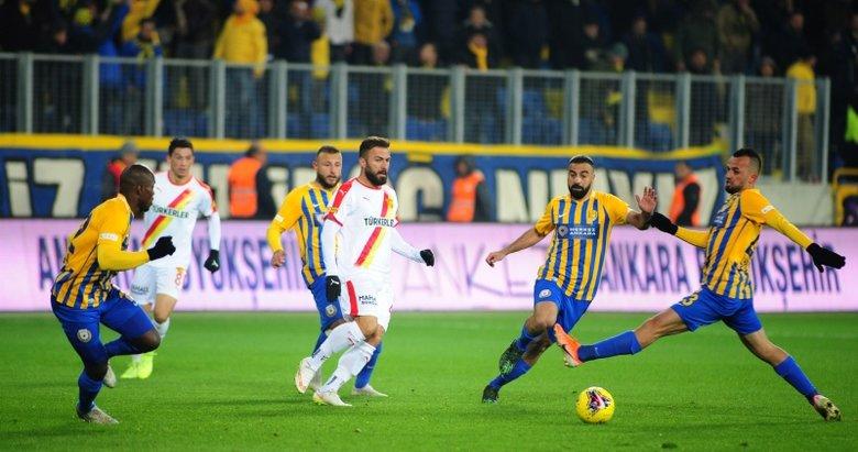 Göztepe ile Ankaragücü 53. randevuda