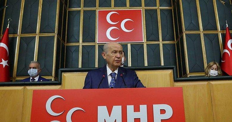 MHP lideri Devlet Bahçeli'den Grup Toplantısı'nda önemli açıklamalar