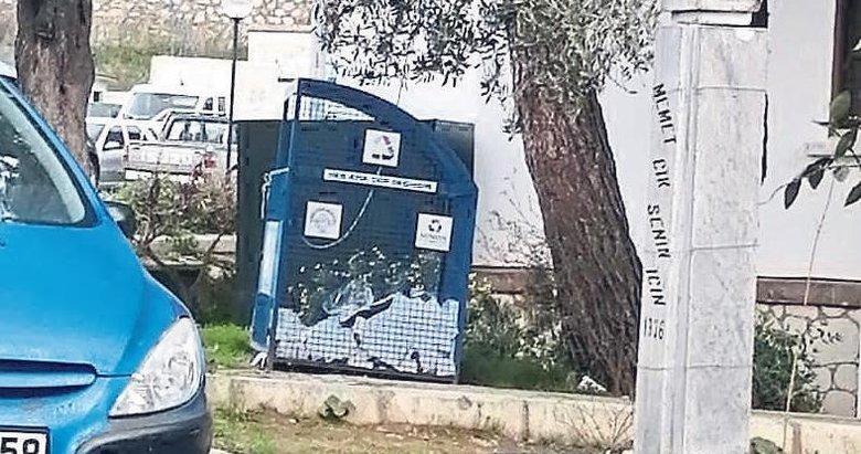 CHP'li belediyeden şehitlere büyük ayıp