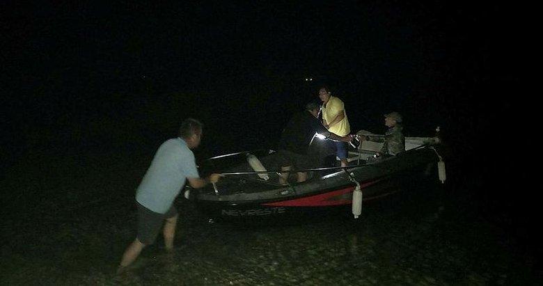 Bozcaada'da zıpkınla balık avlamak için denize giren kişi kayboldu