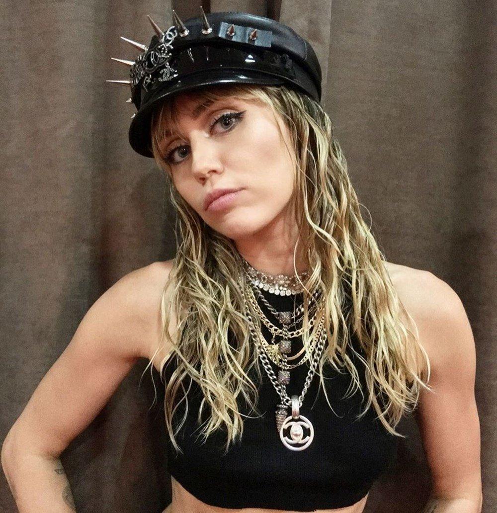 Miley Cyrus'tan temizlik itirafı! Karantina boyunca...