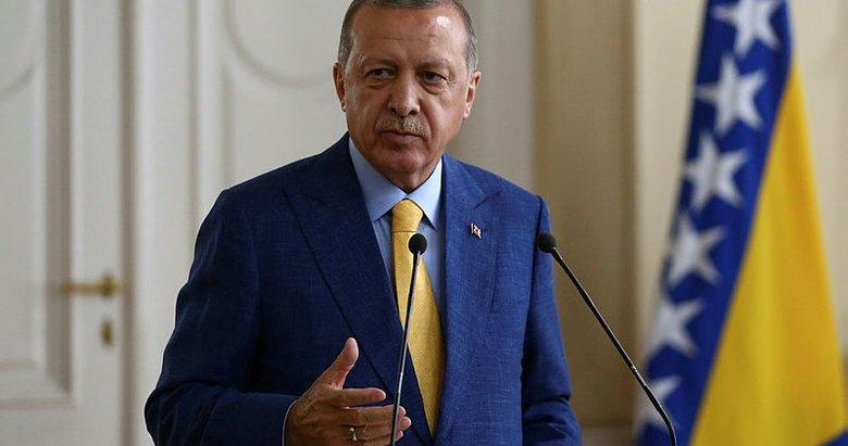 Cumhurbaşkanı Erdoğandan suikast iddialarıyla ilgili açıklama