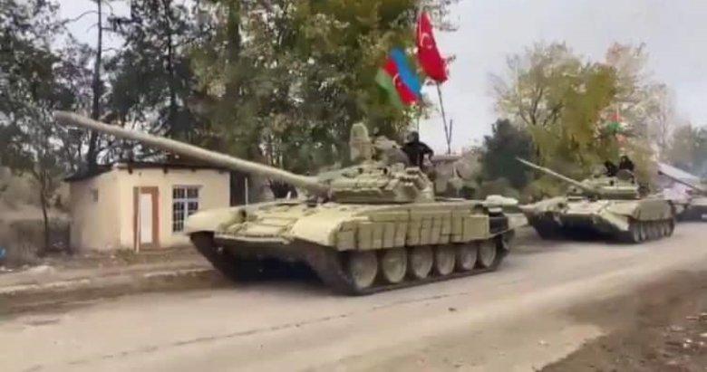 Azerbaycan güçleri 27 yıl sonra Ağdam'da