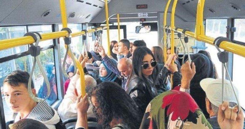 Otobüs klimaları tasarruf kurbanı