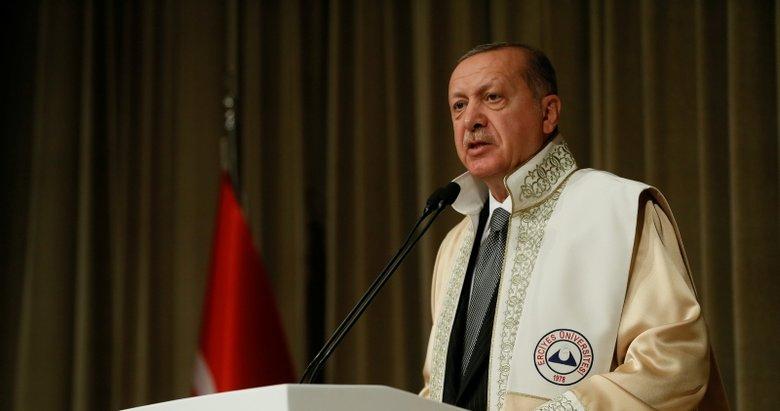 Başkan Erdoğan'dan öğrencilere müjde