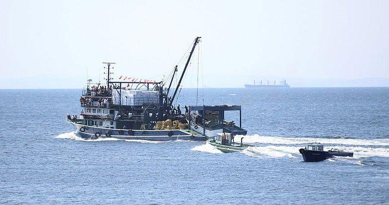 Balıkçılar 'Vira bismillah' diyerek denize açıldı