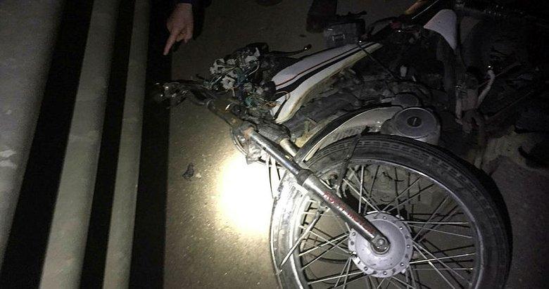 Manisa'da motosiklet devrildi: 1 ölü, 1 yaralı