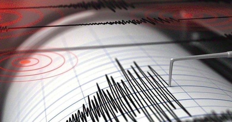 Balıkesir açıklarında Marmara Denizi'nde korkutan deprem!