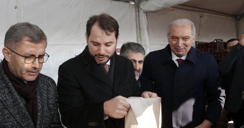 Bakan Albayrak'tan 'tanzim' satış açıklaması