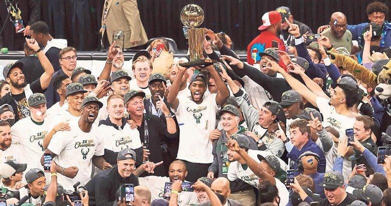 NBA'de şampiyon Milwakee Bucs