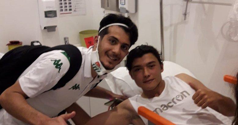 Altınordulu Batuhan Kırdaroğlu ameliyat edildi