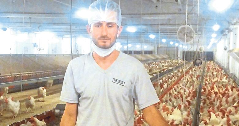 Tavuk çiftliğinden şampiyonluk kürsüsüne