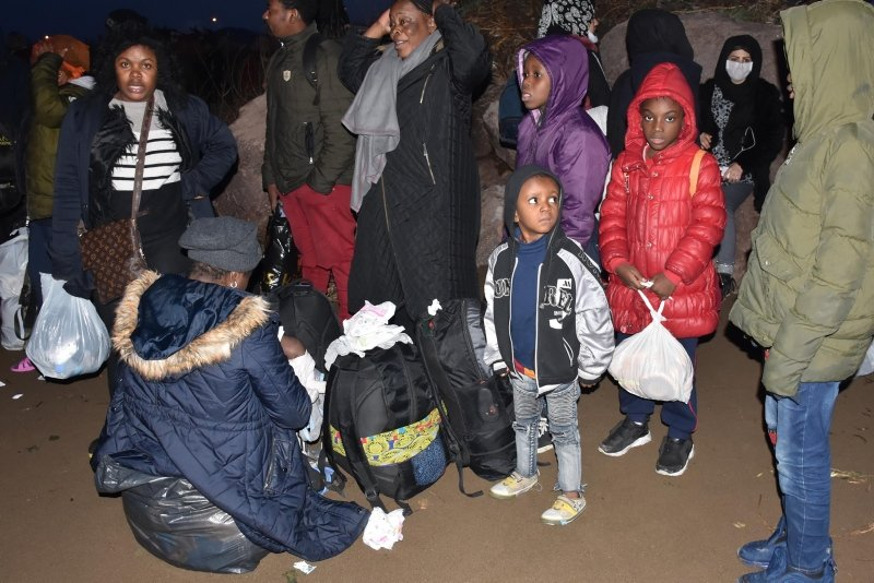 İzmir'de göçmen hareketliliği!