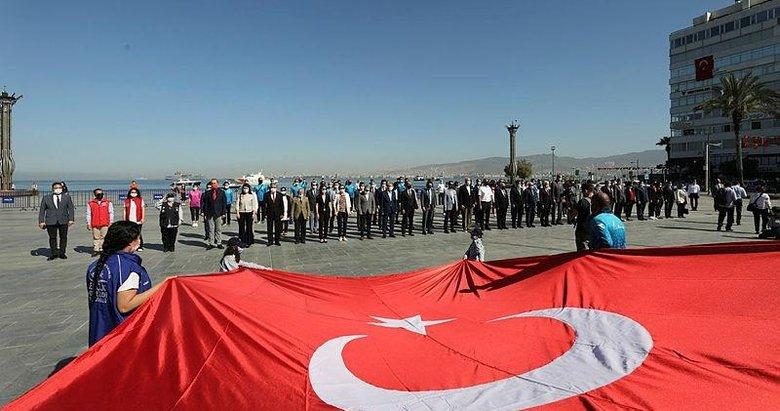 İzmir ve Ege illerinde 19 Mayıs Atatürk'ü Anma, Gençlik ve Spor Bayramı törenleri