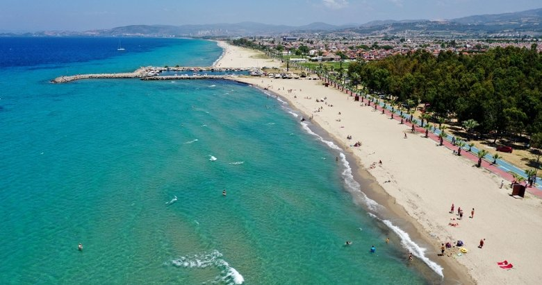 Didim'de mavi bayraklı plajlar denetlendi