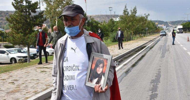 Ankara'ya yürüyen acılı baba, Diyarbakır'daki annelere seslendi: Birlikte kazanacağız