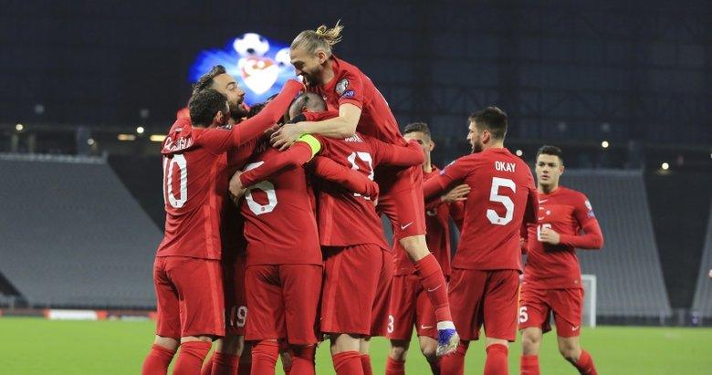 Türkiye 3-3 Letonya   MAÇ SONUCU