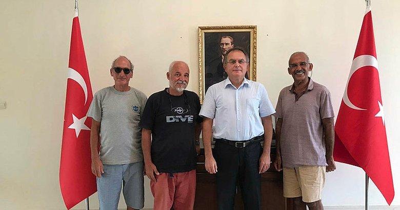 Eritre'de alıkonan Türk denizci evine döndü
