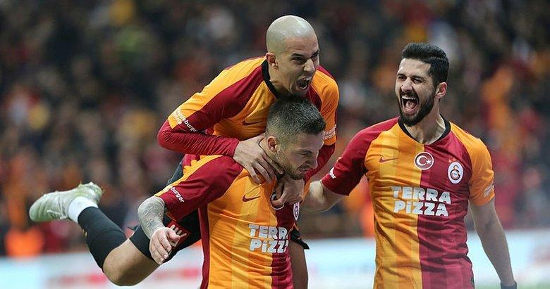 Galatasaray: 1 - Yeni Malatyaspor: 0 Maç sonucu