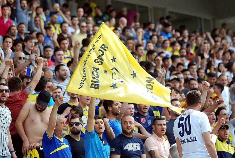 Bucaspor - Afjet Afyonspor karşılaşmasından kareler