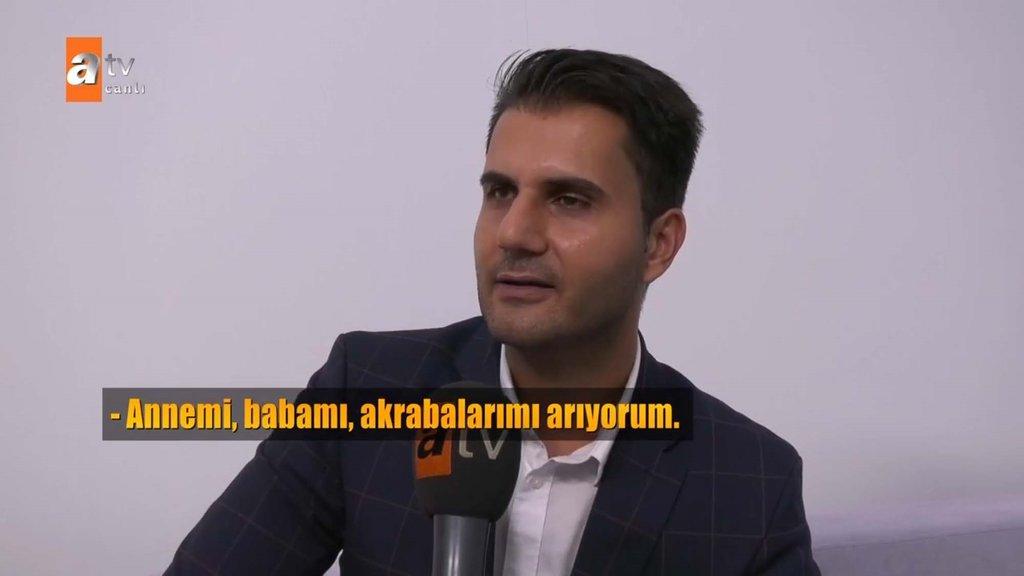 Müge Anlı İzmir'de cami avlusuna bırakılan Vedat'in anne babasını buldu