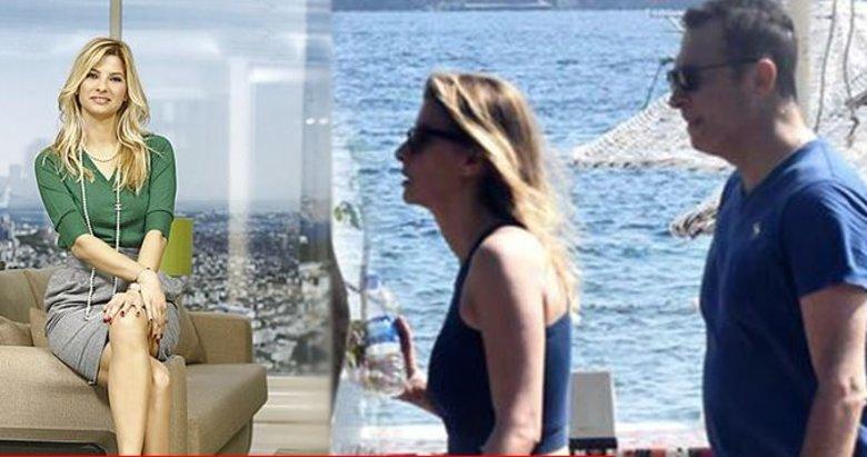 Beşiktaş Başkanı Fikret Orman, Mehmet Ali Erbil'in eski eşi Tuğba Coşkun'la Bodrum'da fena yakalandı