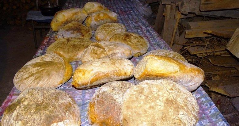 Hisarcık'ta Korona virüs köy ekmeğine talebi arttırdı