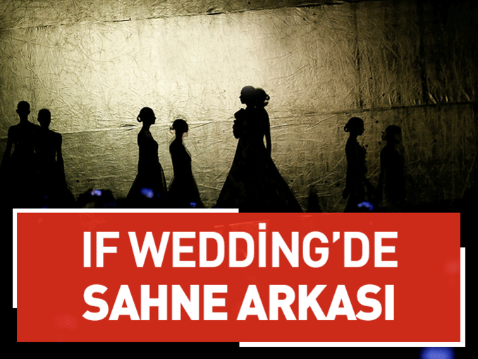 If Wedding'de sahne arkası