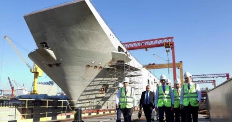 Türkiye'nin amiral gemisi milli yazılımla donatılıyor