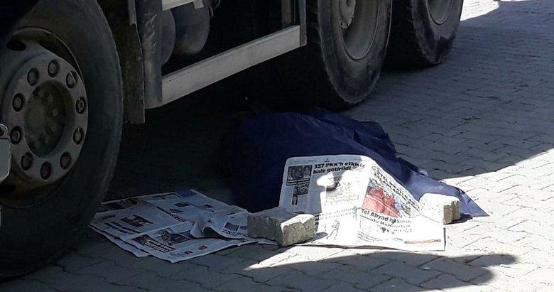 Beton ölen beton mikserinin çarptığı yaya öldü gündem haberleri