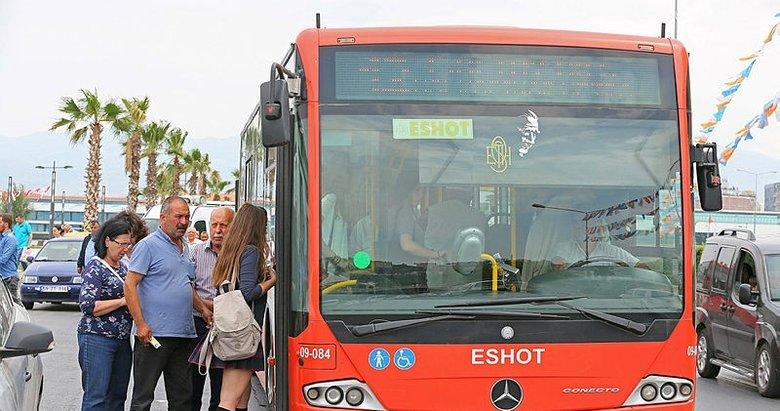 İzmirde toplu taşımada yeni düzenleme!