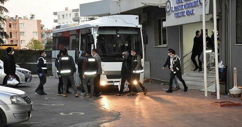 Menemen Belediyesi'ne operasyonda yeni gelişme! Başkan Aksoy'un da aralarında bulunduğu 26 şüpheli adliyeye sevk edildi