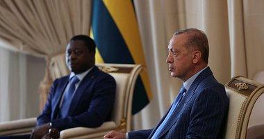 Son dakika: Başkan Erdoğan Togo'da resmi törenle karşılandı