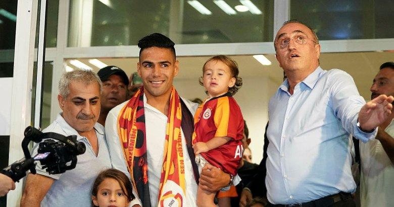 Galatasaray'ın yeni transferi Radamel Falcao İstanbul'da!