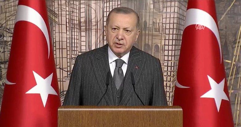 Başkan Erdoğan'dan İstanbul'da önemli açıklamalar