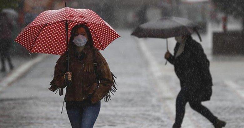 Ege ve İzmir'e sağanak uyarısı! Meteoroloji açıkladı: 7 Nisan 2021 hava durumu