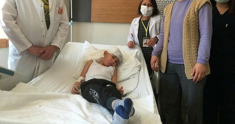 Eymen'in başındaki mermi ameliyatla çıkarıldı! Manisa'da parkta oynarken başına isabet etmişti