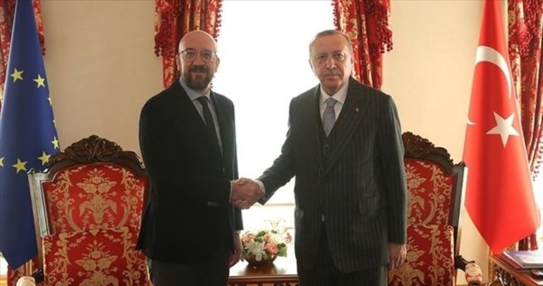 Son dakika: Başkan Erdoğan, AB Konseyi Başkanı Michel'le telefonda görüştü