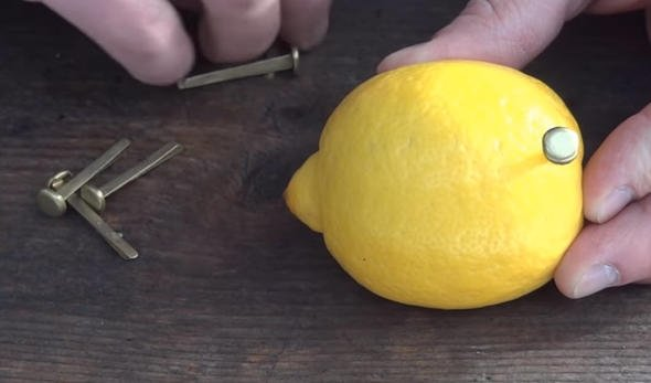 Rus mühendis limon ile öyle bir deney yaptı ki!