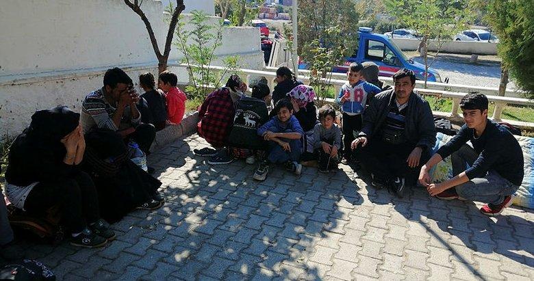 Çanakkale'de 125 düzensiz göçmen yakalandı