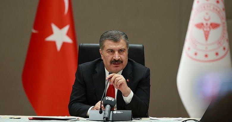 Sağlık Bakanı Fahrettin Koca illere göre haftalık vaka durumunu paylaştı