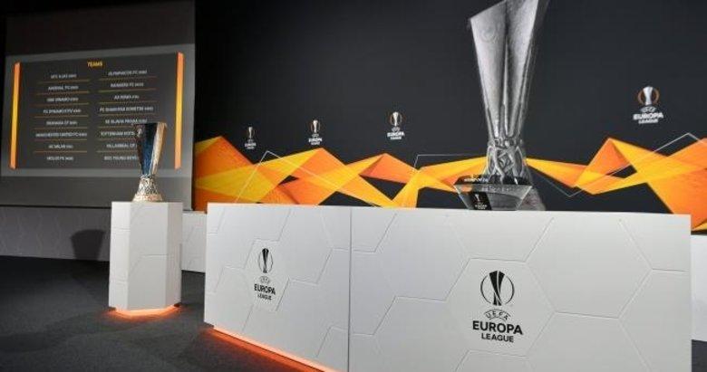 UEFA Avrupa Ligi'nde son 16 tur kuraları belli oldu!