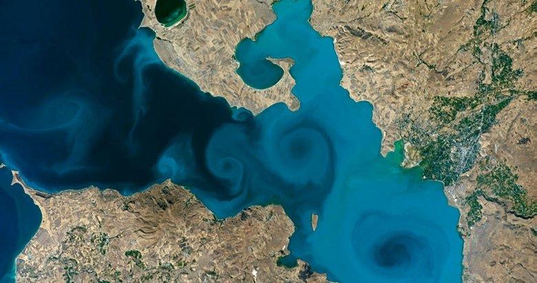 NASA'nın yarışmasında Van Gölü fotoğrafı birinci oldu