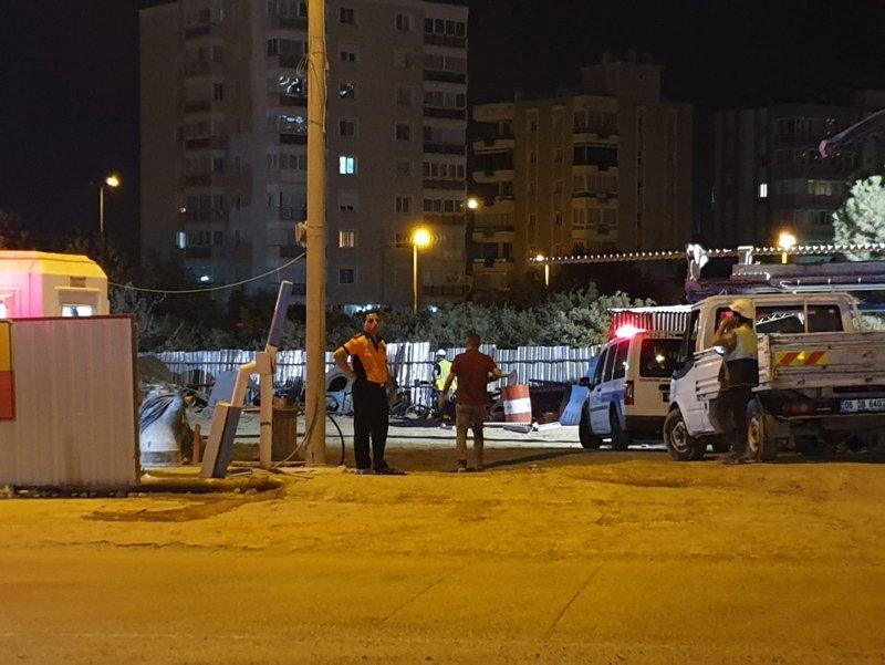 İzmir Narlıdere'de metro inşaatında feci iş kazası! 1 kişi hayatını kaybetti