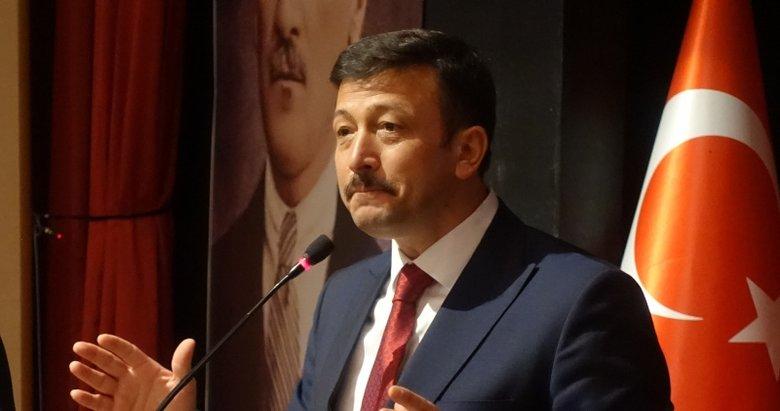 AK Parti'li Hamza Dağ'dan İzmir Büyükşehir Belediyesi'ne altyapı eleştirisi