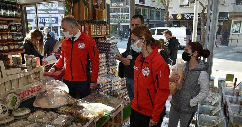 Manisa'daki gıda işletmelerine ramazan denetimi