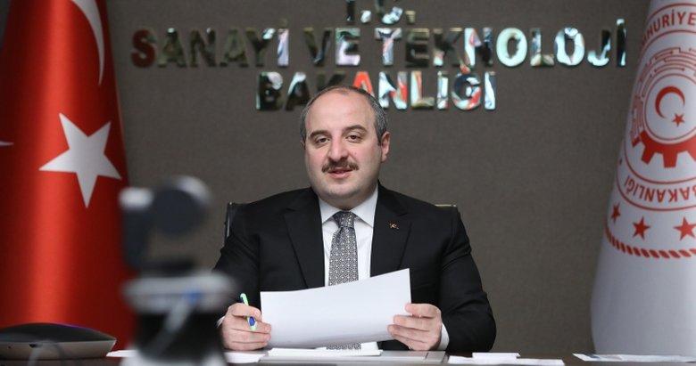 Sanayi ve Teknoloji Bakanı Mustafa Varank: Haziran ayında müjdemiz olacak
