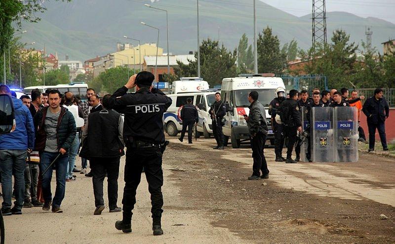 Erzurum'da silahlı kavga: 1 ölü, 2'si polis 14 yaralı